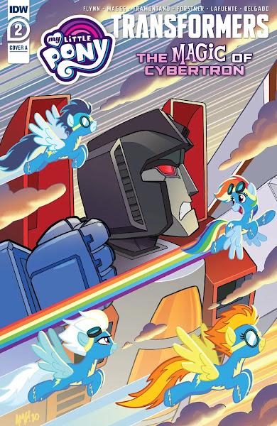 My Little Pony/Transformers II #2 Cover A