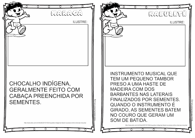 Livrinho Cultura Indígena para ilustrar - Brinquedos