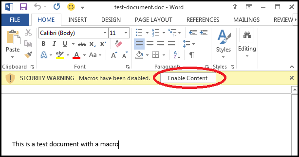 """excel how to enable macros Adapt security to enable macros in excel microsoft office software (especially  excel) uses what are called """"macros"""" to perform a series of steps for you."""