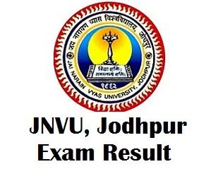Jai Narain Vyas University Exam Results 2018