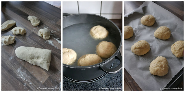 Laugen Buns | Backen | Rezept | Burger | Homemade | Bosch MUM 5
