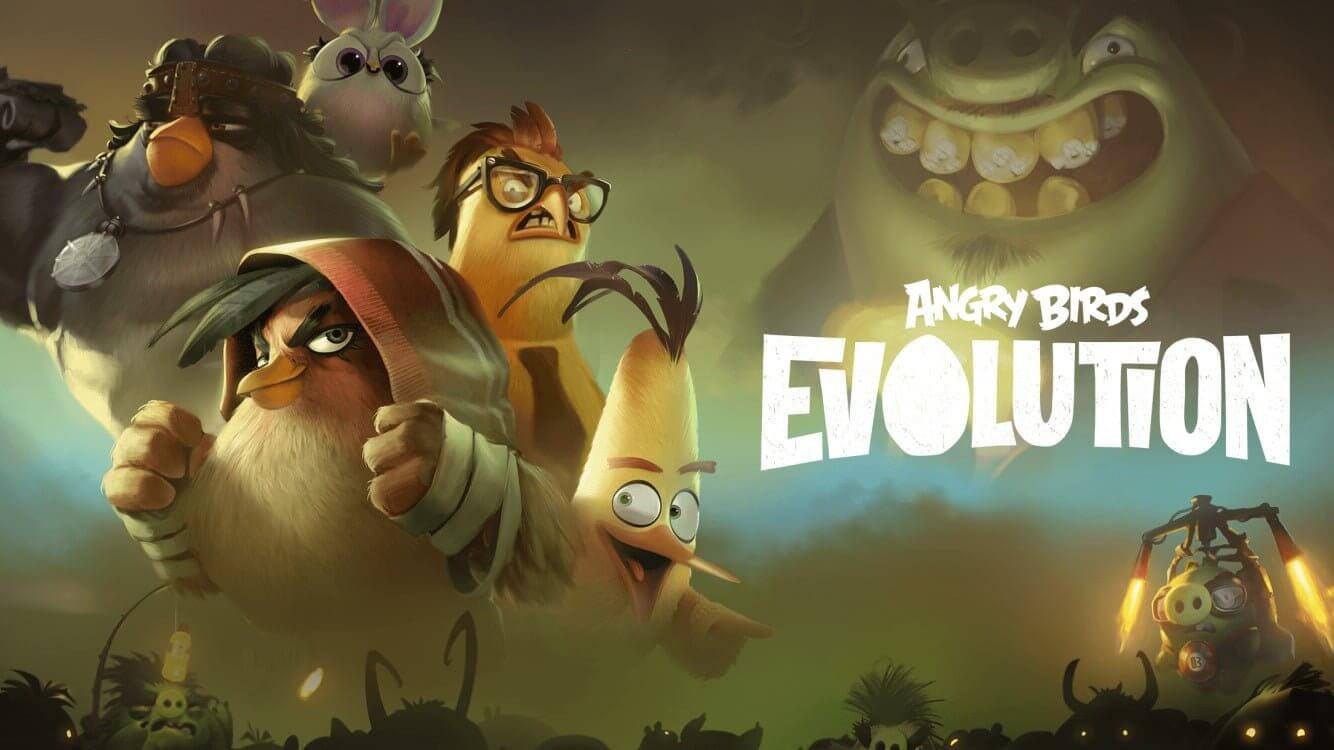 نقدم لكم عن Angry Birds Evolution إطلاق أحدث إصدار من 2020