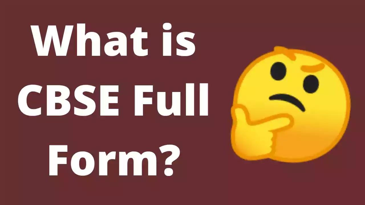 cbse-full-form
