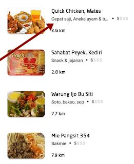cara pesan gojek food 3