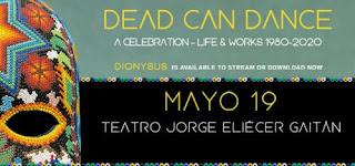 Concierto de DEAD CAN DANCE en Bogotá