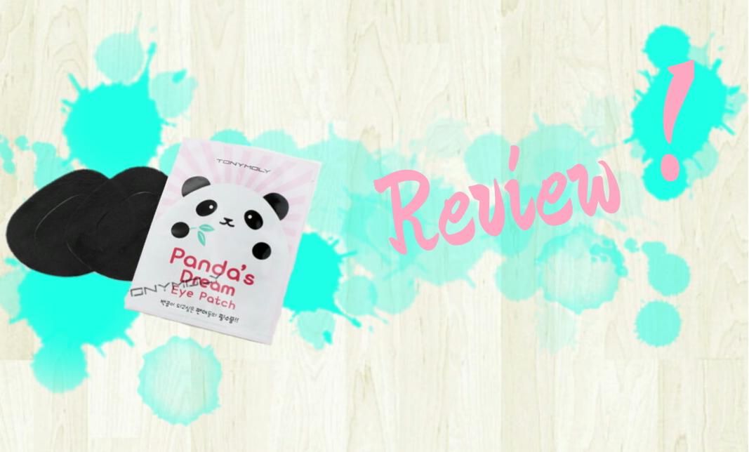 Tonymoly review panda eye patch