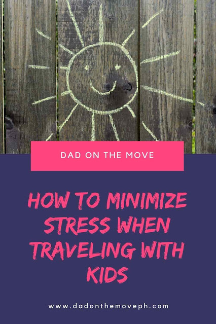 How to minimize stress when traveling with children