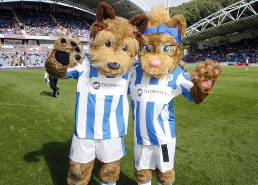 Tilly-and-Terry-Huddersfield-mascots