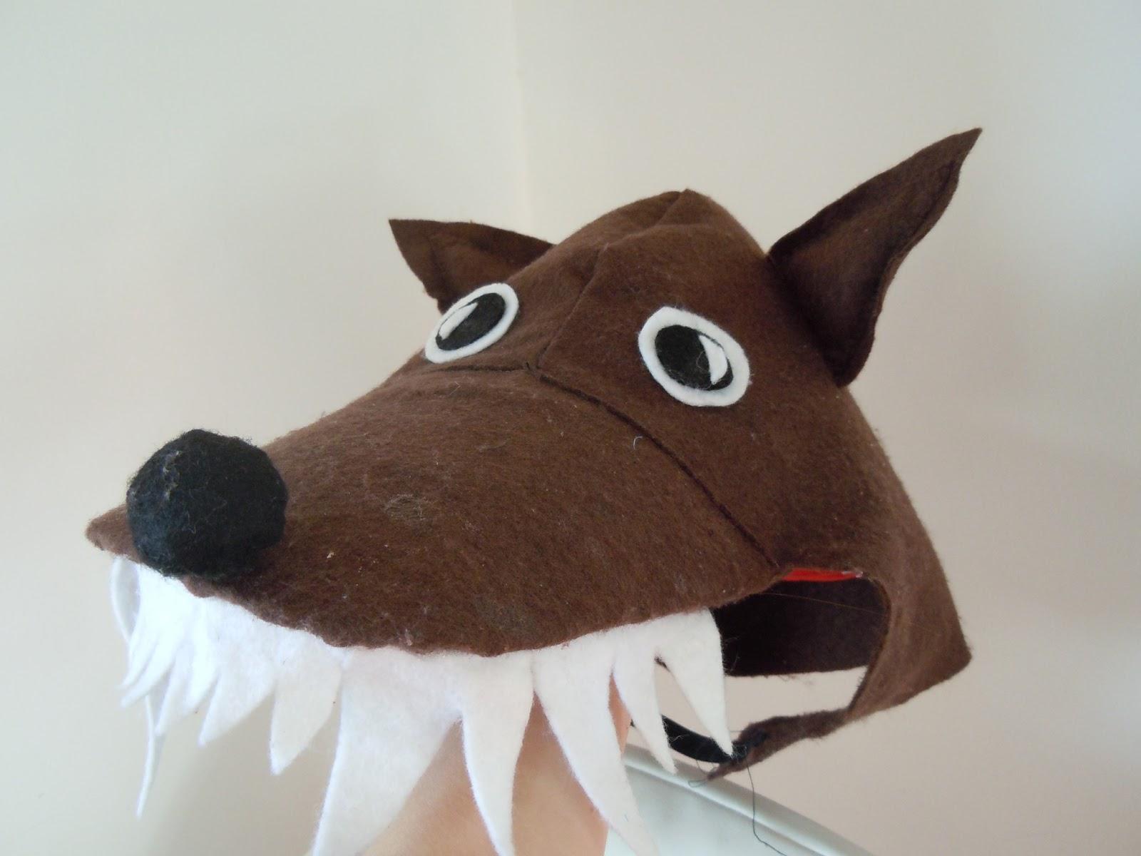 Eccezionale Decora Recicla Immagina: Maschera lupocome costruirla! - The Wolf RO35