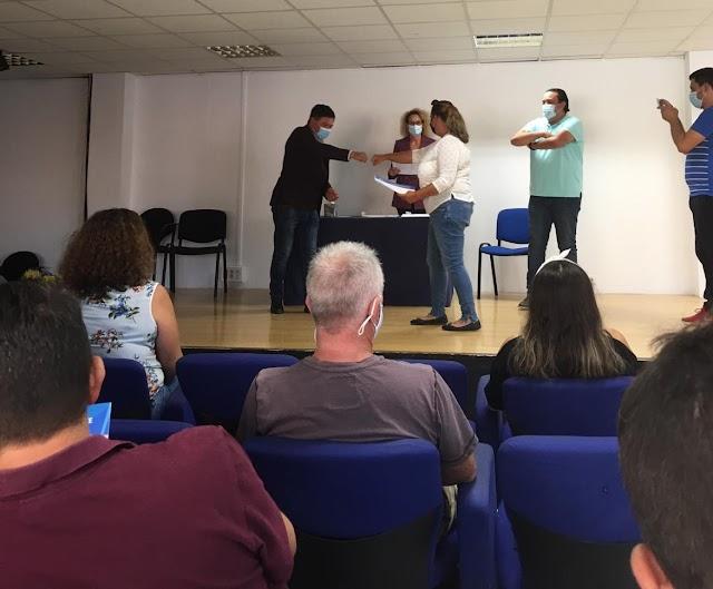 Fuerteventura.- Pájara entrega los diplomas a los alumnos del curso de monitor deportivo de ocio y tiempo libre