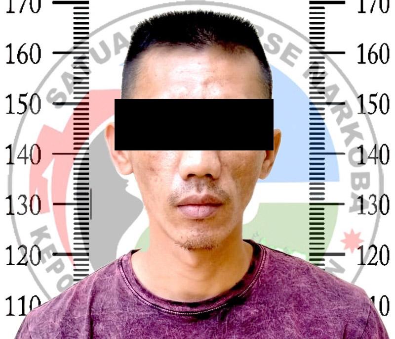 Jadi Pengedar Shabu, Seorang Pria Bumibaru Diamankan Polisi