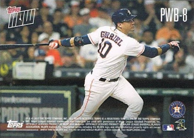 dced3d856 The second card pictures Brad Peacock and Yulieski Gurriel. Pretty cool  stuff. I don t know if I ll buy as many Topps Now cards in 2018 as I did  this year.