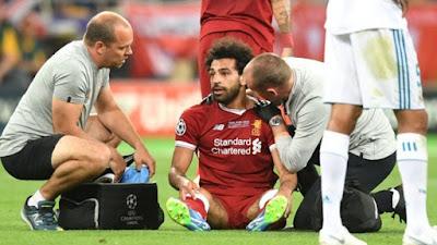 ليفربول يعلن : صلاح سيعود بعد 3 أسابيع
