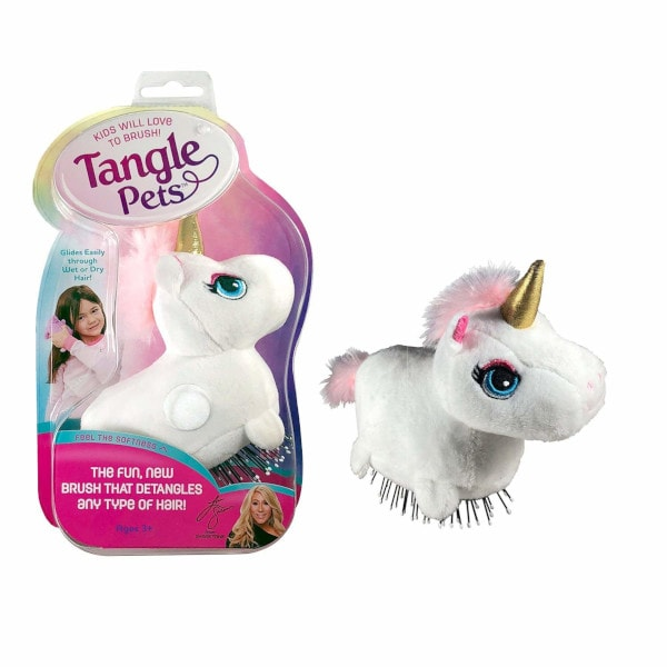 Tangle Pets Unicorn Hair Brush