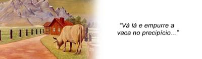 vaca penhasco precipício mestre