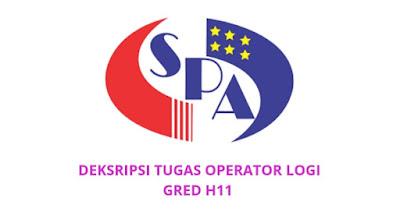Gaji, Kelayakan & Tugas Operator Logi Gred H11