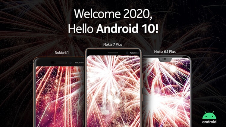 Nokia 6.1, 6.1 Plus, and 7 Plus Get Android 10 Update