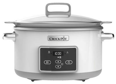 Crock-Pot DuraCeramic Digital Saute Slow Cooker