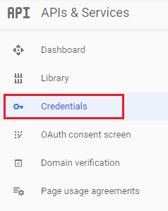create google oauth client