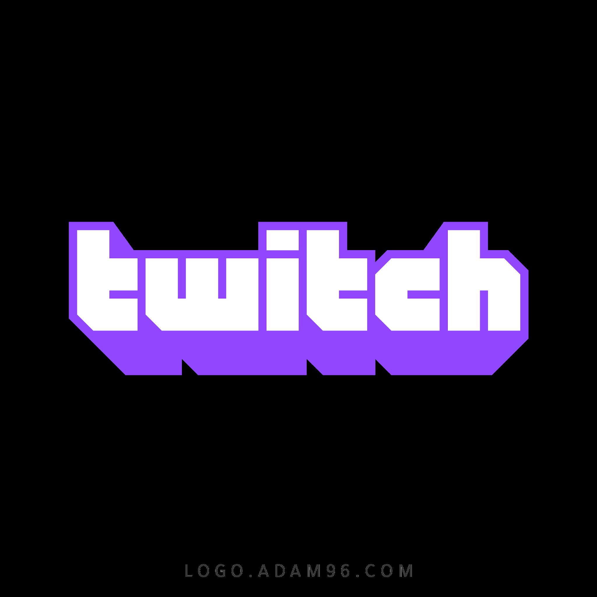 تحميل شعار تطبيق تويتش شفاف Logo Twitch PNG