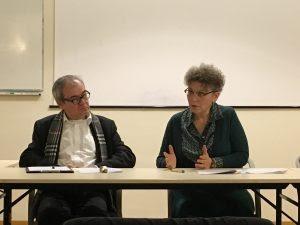 Lorenzo Soccavo et Sylvie Dallet