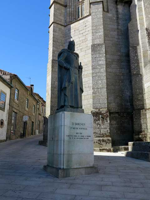 Statue of Dom Sancho I