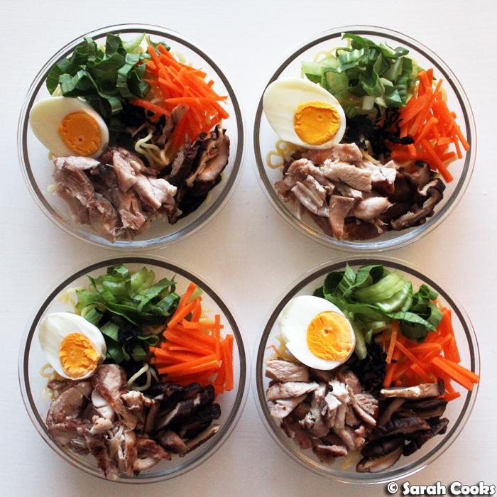 Instant Ramen Meal Prep