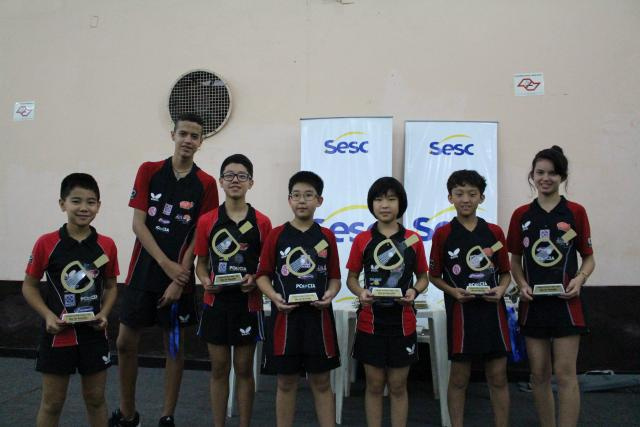 Desafio SESC de Tênis de Mesa na ACER em Registro-SP