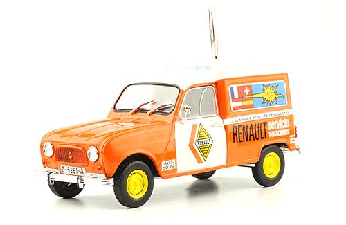 Renault 4 Furgoneta  Servicio vacaciones coches inolvidables salvat