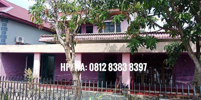Jual murah rumah dengan luas tanah 486 m2 di Jl. Perwira Dekat Manhattan Time Square Ring Road Medan Sumatera Utara