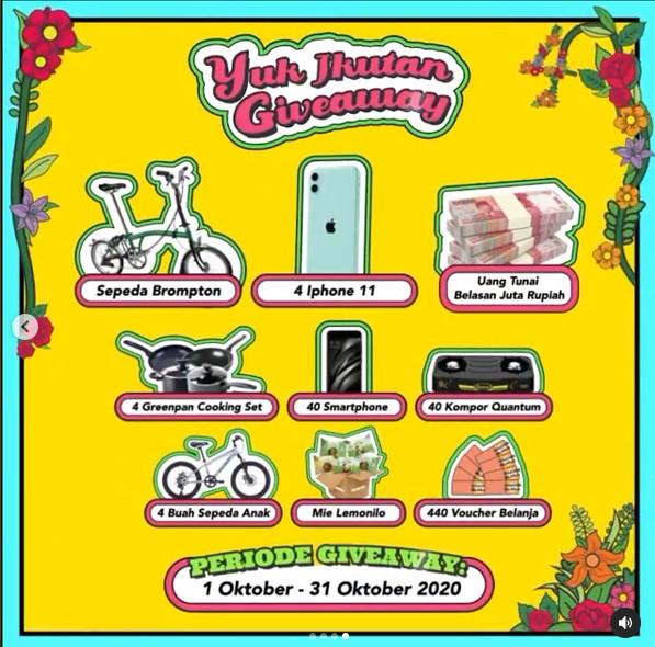 Rahasia Diet Ria Ricis dan Hadiah Brompton di Anniversary Lemonilo