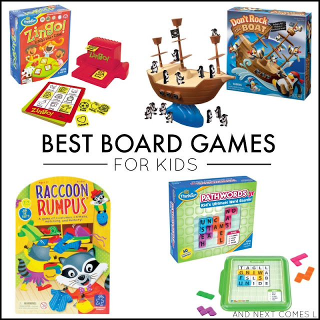 The best board games for toddlers, preschoolers, and up from And Next Comes L