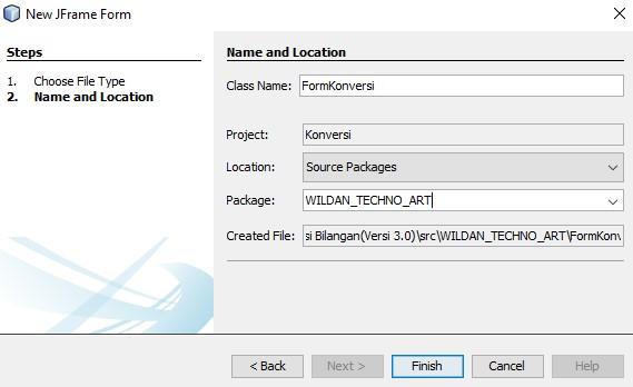 Membuat JFrame Form pada Netbeans IDE