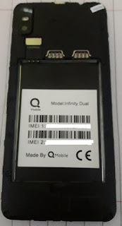 Qmobile Infinity Dual MT6580 2020 Flash File
