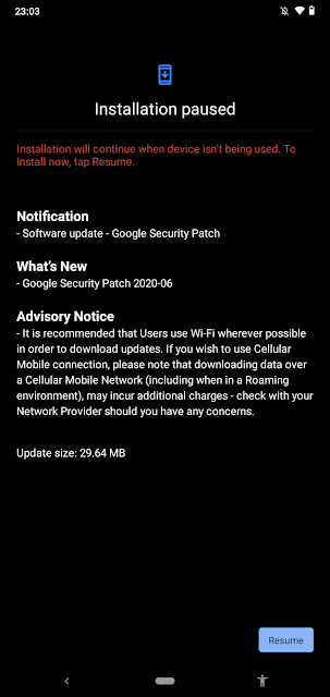 Nokia 2.3 receiving June 2020 Android Security patch