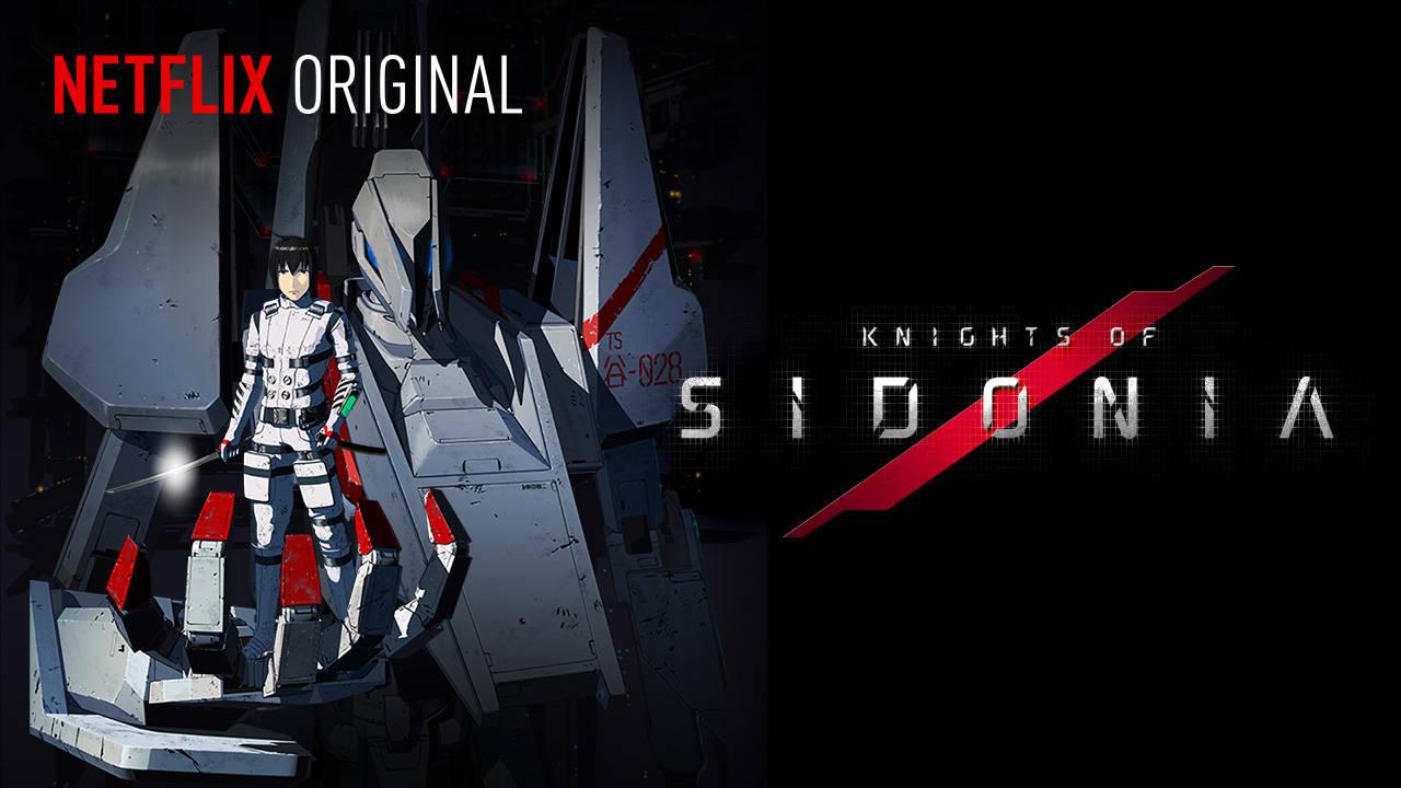 Kinghts of Sidonia - jedno z anime na ekskluzywnej licencji Netflix Original