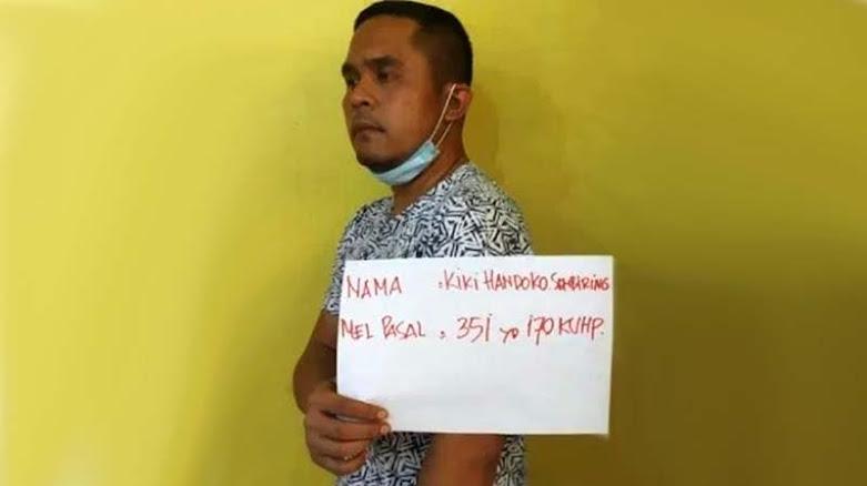 Aniaya Polisi, Anggota DPRD Sumut dan 16 Temannya Ditangkap