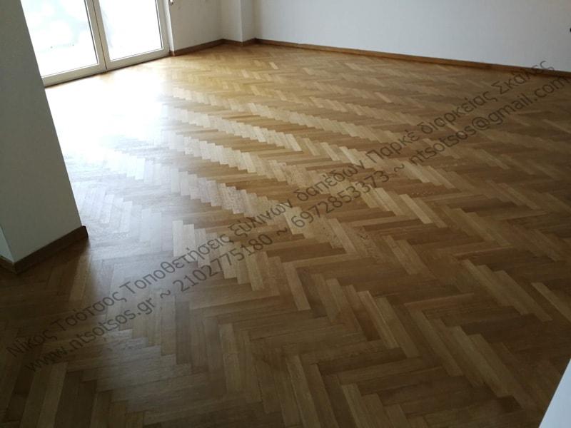 Πως να γυαλίσω το ξύλινο πάτωμα μου;