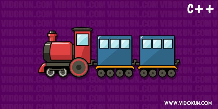 Contoh Program Tiket Kereta Api di C++