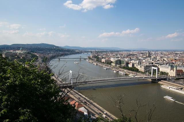 Panorama dalla Collina Gellert-Budapest