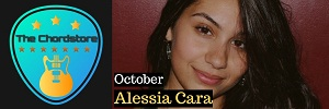 Alessia Cara - OCTOBER Guitar Chords