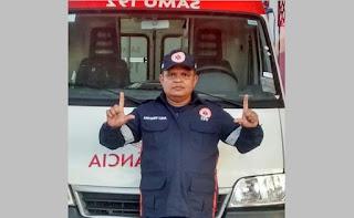 Em decorrência de infarto morre na manhã desta ultima segunda-feira 11, 'Tota da Ambulância', motorista da prefeitura de Guarabira