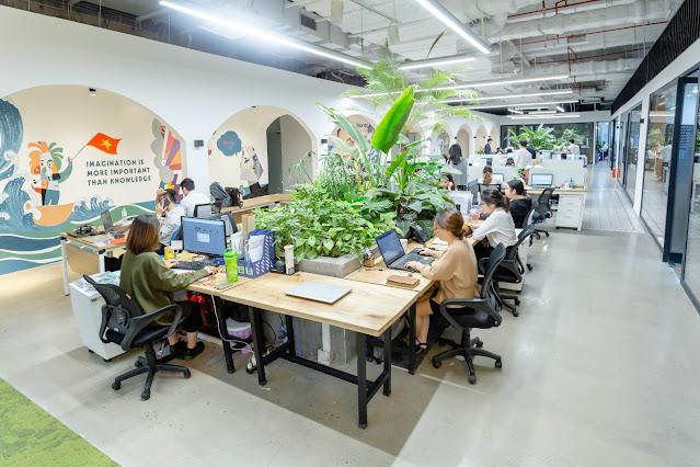Ánh sáng nhân tạo là yếu tố quan trọng khi thiết kế văn phòng