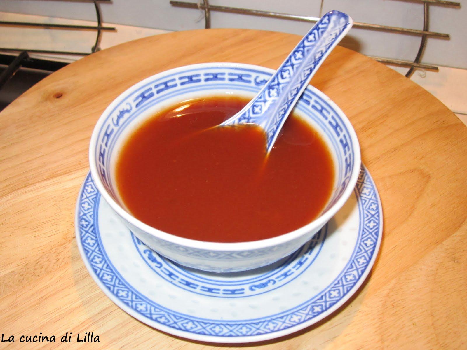 La cucina di lilla salse for Una salsa da cucina cinese