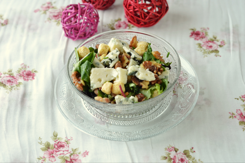 Ensalada de roquefort de Jamie Oliver