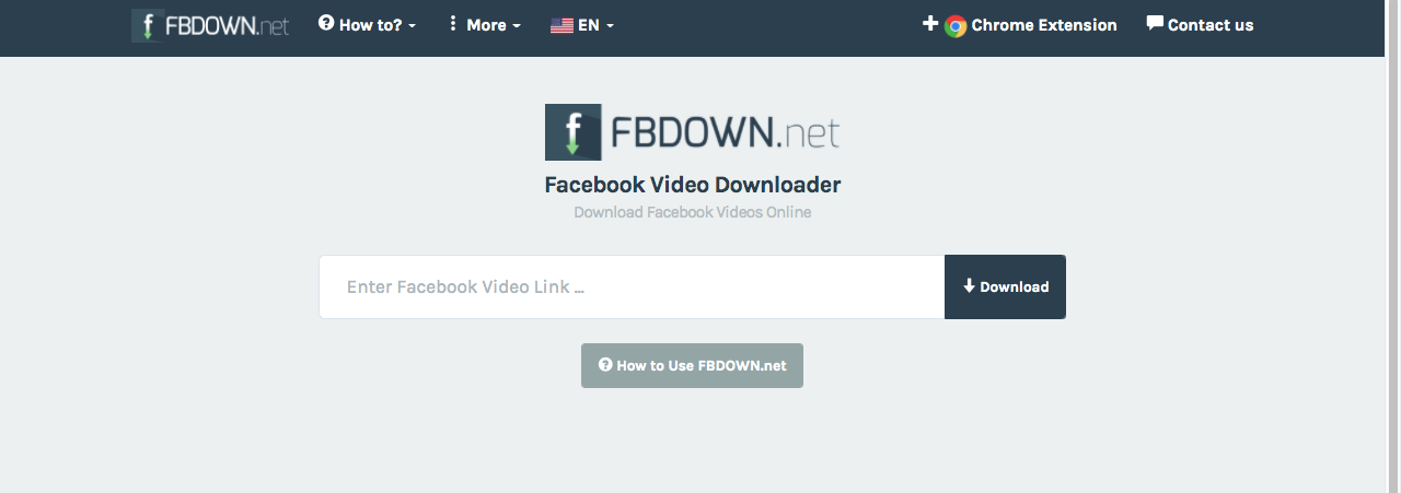 Fbdown - The Best 1080p - 2K - 4K Facebook Video Downloader Online 2020