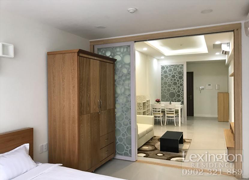 cho thuê căn hộ Lexington 1PN - Phòng ngủ