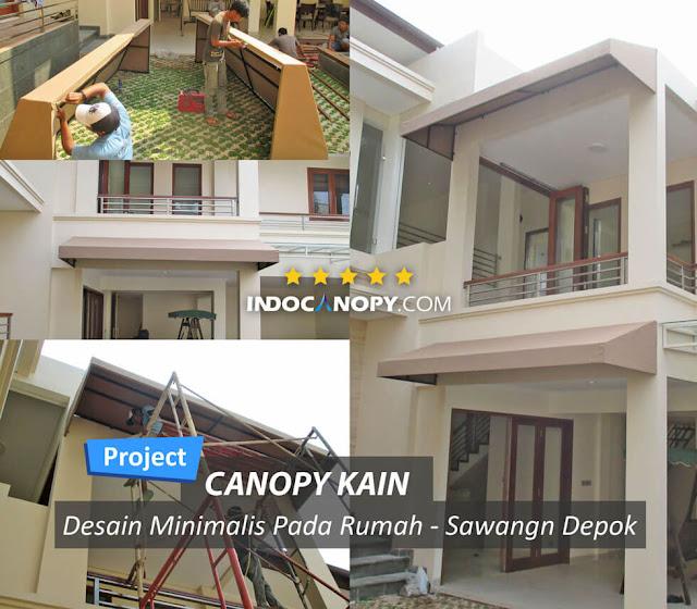 canpy kain minimalis rumah
