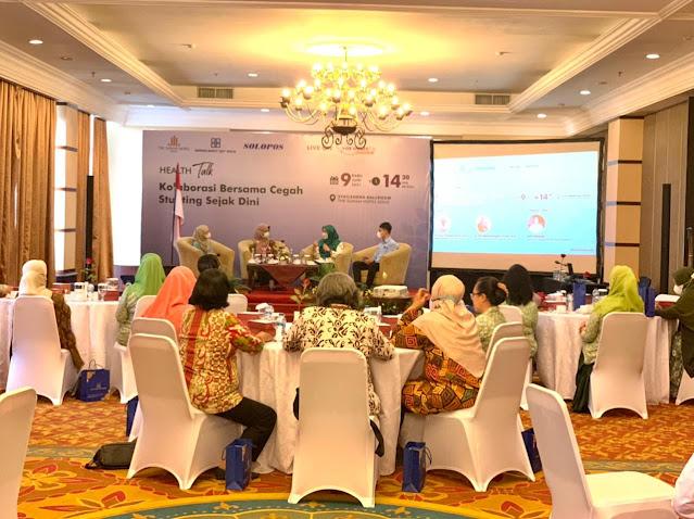 Peduli Pencegahan Stunting, The Sunan Hotel Solo Gelar Talkshow 'Kolaborasi Bersama Cegah Stunting Sejak Dini'