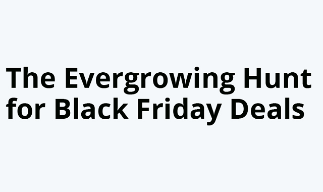 The most awaited Black Friday search trend